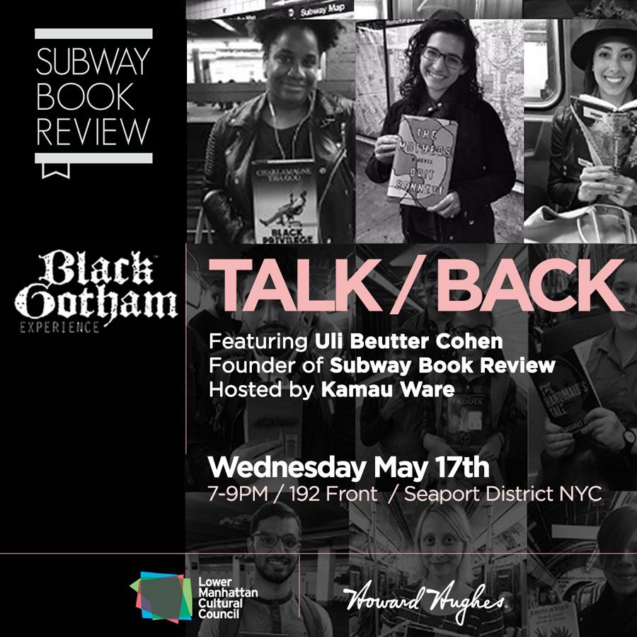 small-BlackGotham_TalkBack_Uli_Flyer